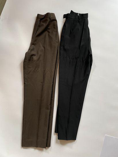 GUY LAROCHE Tailleur pantalon et veste en...