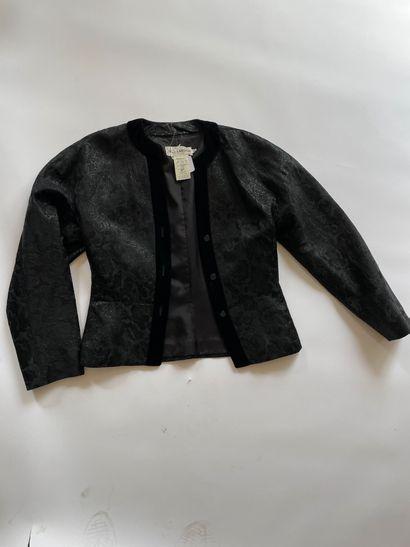 GUY LAROCHE Blazer prince de Galles laine/polyester...