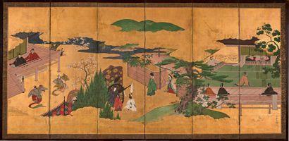 JAPON Époque EDO (1603-1868), XVIIIe/XIXe siècle