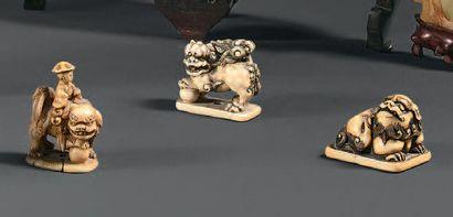 JAPON - Époque EDO (1603 - 1868) XIXe siècle