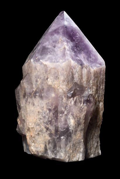 GRAND CRISTAL D'AMÉTHYSTE Bolivie H. 35 cm...