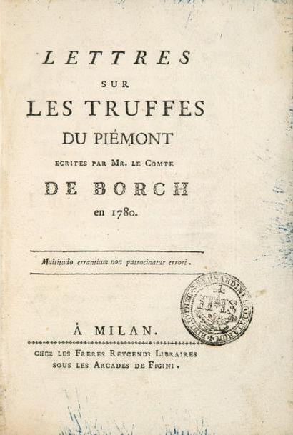 BORCH (Michel-Jean, comte de)