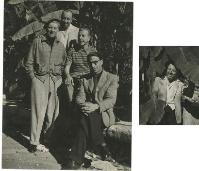 Emile SAVITRY (1903-1967) Jean Gabin, Marcel...