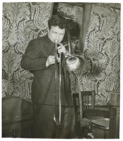 Musiciens et jazzmen Circa 1948-50 Sept (7)...