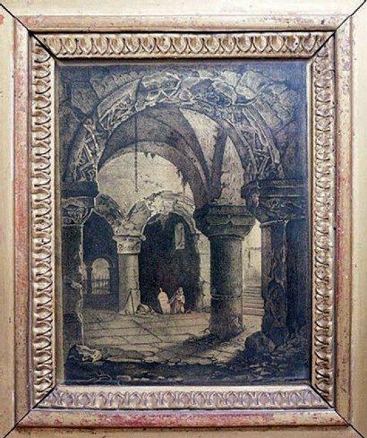 ATTRIBUÉ À LOUIS DAGUERRE (17871851)