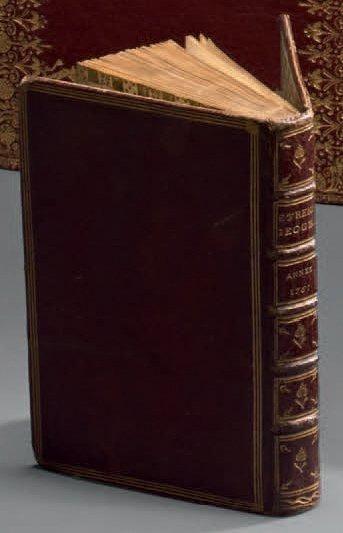 ATLAS.- ETRENNES GÉOGRAPHIQUES. Année 1761....