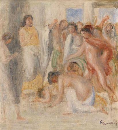 Le serment d'OEdipe, c. 1895 Huile sur toile...