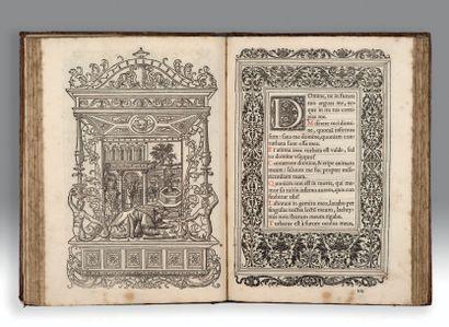 HEURES À L'USAGE DE ROME. - Horae in laudem beatissimae virginis Mariae, ad usum...