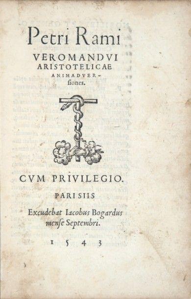 RAMUS (Pierre La Ramée, dit)