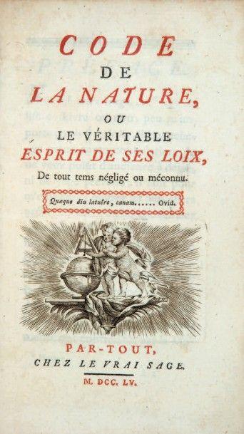 [MORELLY (Étienne-Gabriel)]
