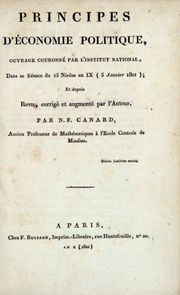 CANARD (Nicolas-François)