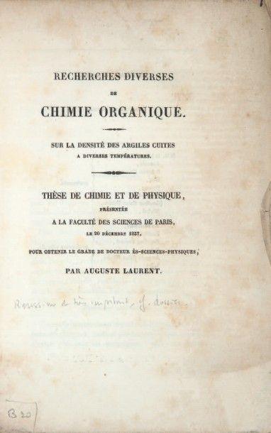 LAURENT (Auguste)