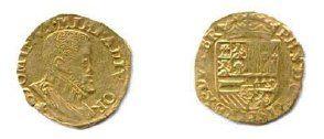 DUCHÉ DE BRABANT - PHILIPPE II d'Espagne...