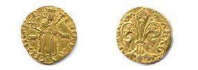 VALENCIA - MARTIN Ier 1356-1410 Florin d'or...