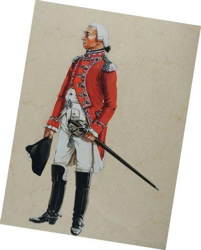 Officier de Gendarmerie de France de la Compagnie...