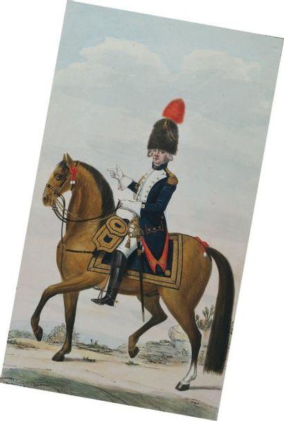 Officier des Grenadiers à Cheval de la Garde...