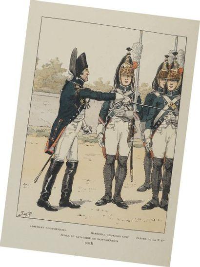 École de Cavalerie de Saint Germain, 1811....