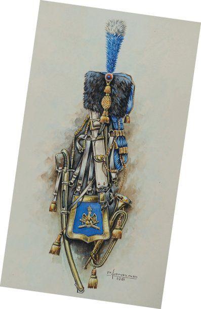 Trompette d'Artillerie à Cheval de la Garde...