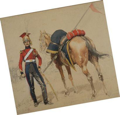 Lancier hollandais de la Garde Impériale,...