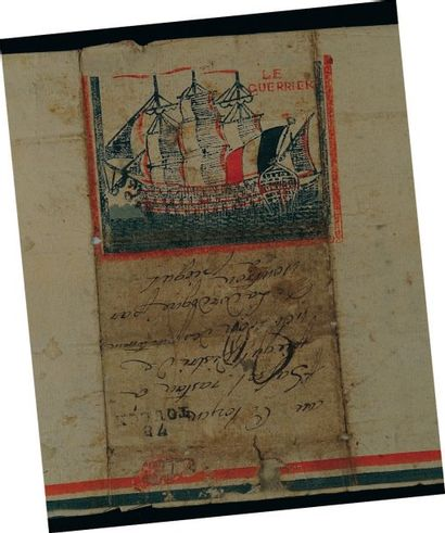 Lettre autographe signée. Lettre d'un marin...