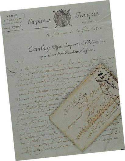 Lettre autographe signée, en date du 20 juin...
