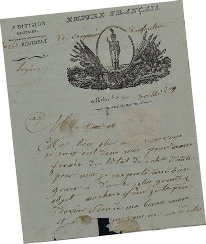 Lettre autographe signée de Guillaume Boit,...