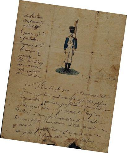 Lettre autographe signée de Joseph Maran,...