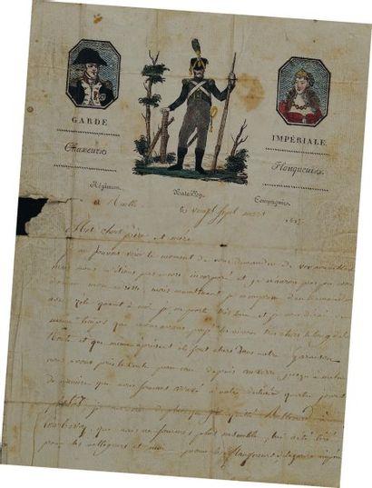 Lettre autographe signée de Nicolas Caille,...