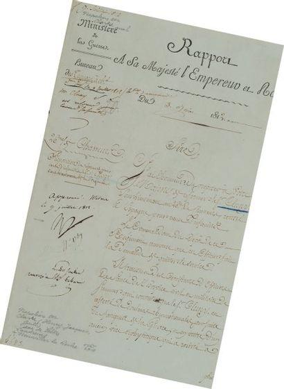 Rapport du 26e Régiment de Chasseurs, approuvé...