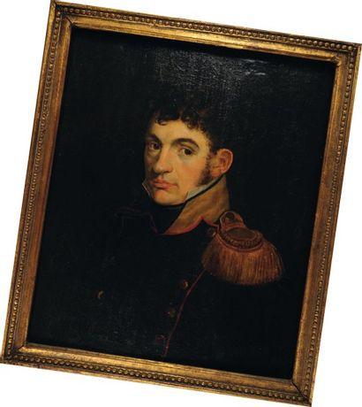 Portrait d'un Capitaine de Voltigeurs d'Infanterie,...