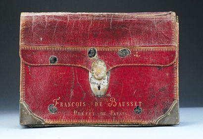 Portefeuille de François Bausset, Préfet...
