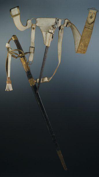 Sabre de Dragon, modèle an 11, Première Empire....