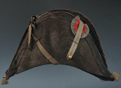 Chapeau d'Officier aide de camp avec ruban...