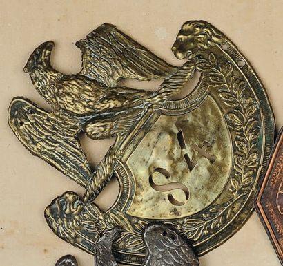 Plaque de schako du 84e Régiment d'Infanterie...