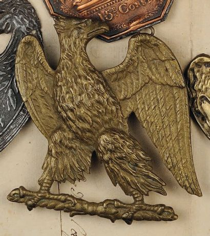 Aigle de giberne de d'Infanterie de la Jeune...