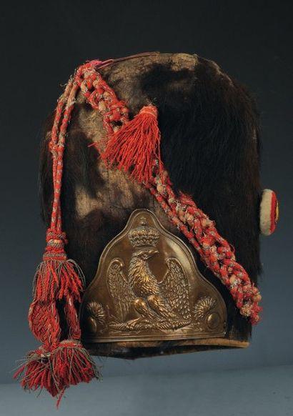 Bonnet à poils de Sous-officier des Grenadiers...