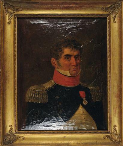 Portrait d'un Colonel d'Infanterie Légère,...