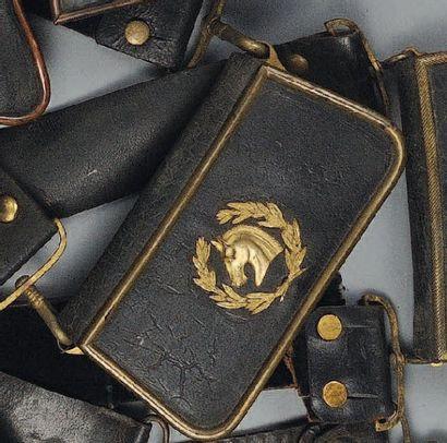 Giberne d'Officier des Haras, Second Empire....