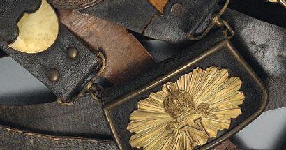 Giberne d'Officier des Guides de la Garde...