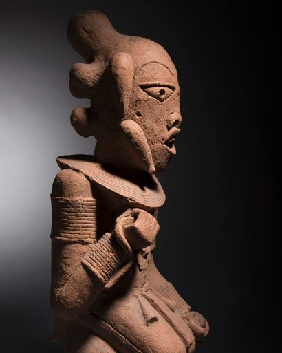 Statue Nok, Nigeria Époque: 430-715 après...