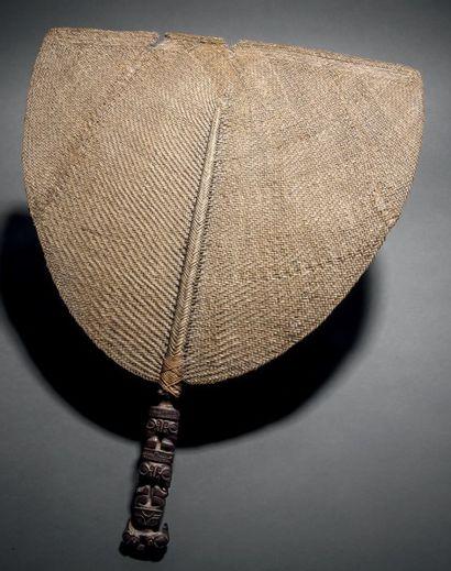 Eventail tahi'i, Iles Marquises, Polynésie...