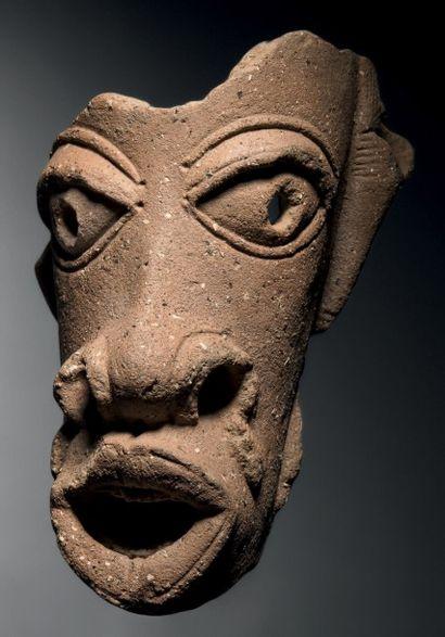 Tête Nok, Nigeria Époque: IVe avant J.-C....