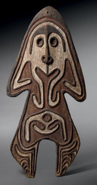 Planche votive gope akea'koivi, Golfe de...