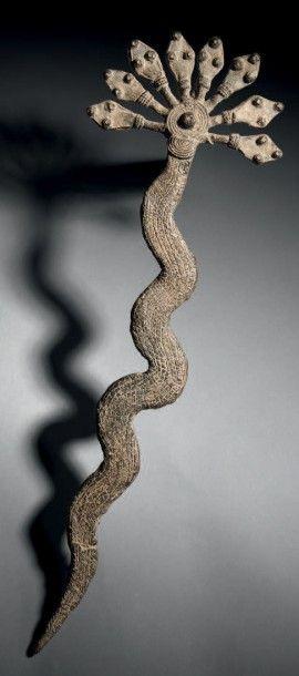 Grand serpent de divination ou torfan Gan,...