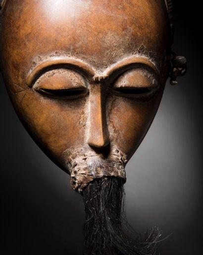 Masque Baoule, région de Sakasso, Côte d'Ivoire...