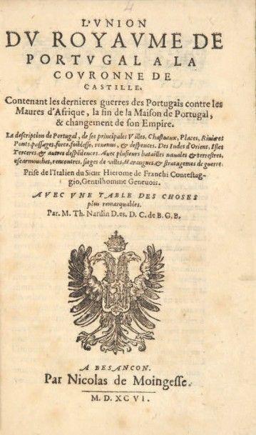 CONESTAGGIO (Girolamo de Franchi)