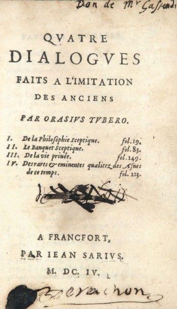 LA MOTHE LE VAYER (François)