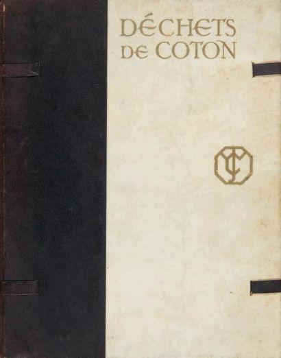 [COBURN Alvin Langdon]. HOBSON Charles W. DÉCHETS DE COTON.