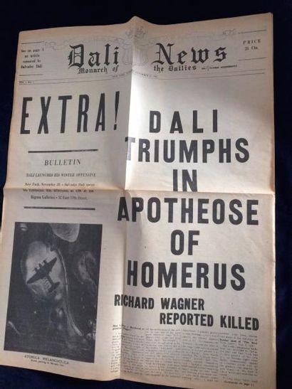 [DALI Salvador]. DALI NEWS. New York, 20...