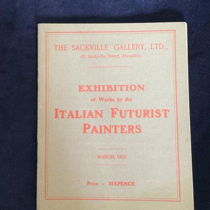 [FUTURISME ITALIEN]. EXHIBITION OF WORKS...